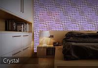 3D панели Гипсовые Alivio серии Crystal