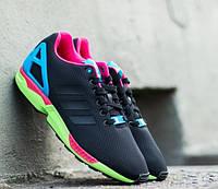 Adidas Zx Flux Core Black/Solar Green