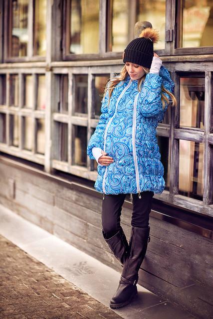 Верхняя одежда для будущих мам демисезонная