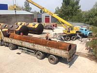 Демонтаж и монтаж ( замена ) дымовой  ( пароотводной) трубы диаметром 1020 мм на пеллетном производстве в посе