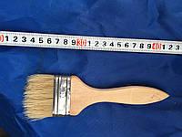 Кисть флейцевая, деревянная ручка 60 мм (Толстая)