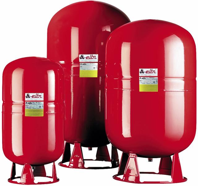 Расширительные баки ELBI для систем отопления и горячего водоснабжения (компенсаторы)