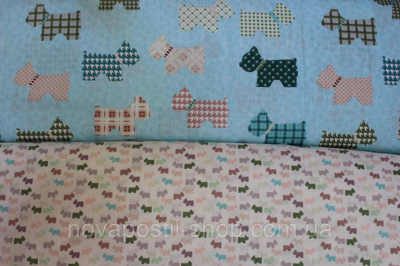 Детское постельное белье из сатина Dogs Original