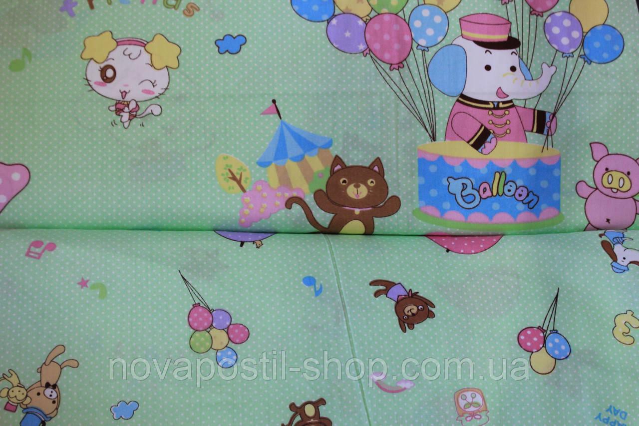 Детское постельное белье из сатина Baloon
