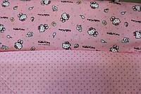 Детское постельное белье из сатина Китти Стайл