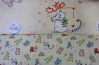 Детское постельное белье из сатина Nice