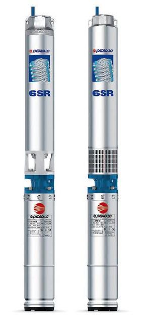 Скважинные центробежные насосы PEDROLLO модель 6SR(для скважин диаметром от 150 мм)