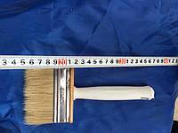Кисть флейцевая, пластиковая ручка 30х90 мм (Макловица)