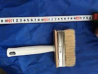 Кисть флейцевая, пластиковая ручка 30х110 мм (Макловица)