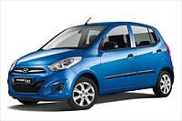 Защита картера двигателя и КПП Хюндай И-10 (Ай-10) (2007-2014) Hyundai I-10