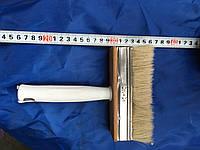 Кисть флейцевая, пластиковая ручка 40х140 мм (Макловица)