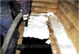 Применение пеноизола в строительстве