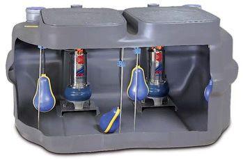 Автоматические канализационные насосные станции PEDROLLO модель SAR