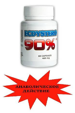 Экдистерон в капсулах 90% 400мг/60 капс, фото 2