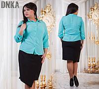 Блузы, Рубашки 48+