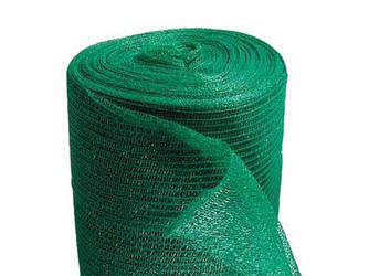 Затеняющая сетка плотность 35гр/кв.м (зелёная)