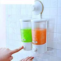 Двухбаковый дозатор для жидкого мыла ― Soap Dispenser - «Качество-Гарант» в Киеве