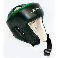 """Шлем боксерский из кожи """"ТМ JAB"""" - защита для головы"""