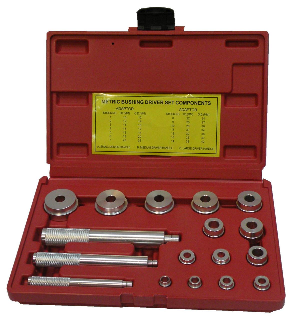 Набор для установки подшипников и сальников TORIN TRHS-E2011 17ед. (внутр. диам.)