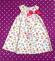Красивое летнее платье для девочки.
