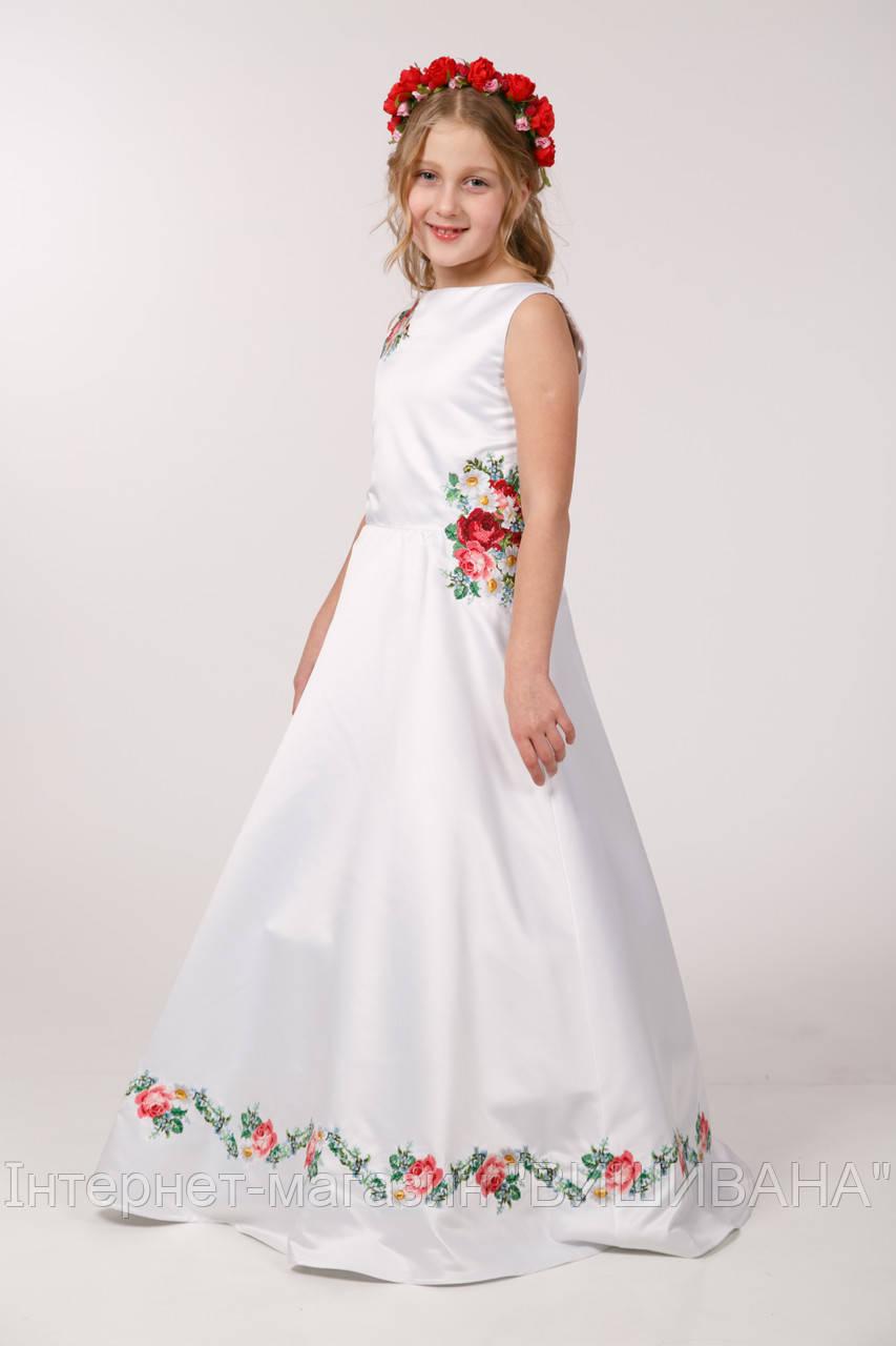 Вишите дитяче плаття ПА 02 - Інтернет-магазин