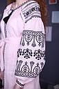 Платье вышитое, лён , фото 3