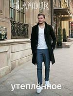 Стильное мужское пальто из кашемира