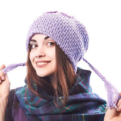 Шапка женская вязанка
