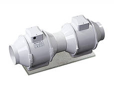 Канальный вентилятор  Вентс 125 ТТ РВ (оборудован выключателем и разьемом IEC С14, 280 м³/ч), фото 3