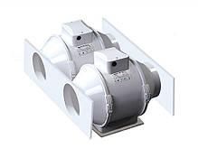 Канальный вентилятор  Вентс 125 ТТ РВ (оборудован выключателем и разьемом IEC С14, 280 м³/ч), фото 2