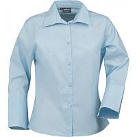 Женская рубашка May от ТМ James Harvest (белая, голубая)