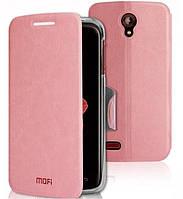Чехол для HTC Desire 500 Mofi Pink