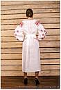 Платье с орнаментом, лён , фото 2