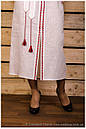 Платье с орнаментом, лён , фото 3