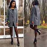 Женское пальто из твида (р-ры 42-46), фото 2