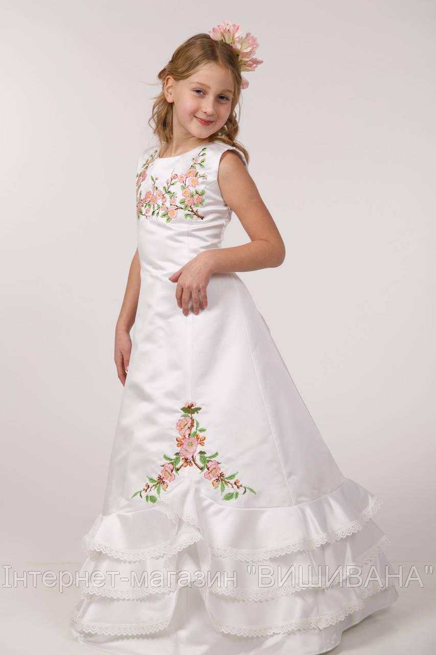 Вишите дитяче плаття ПА 19 - Інтернет-магазин