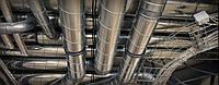 Монтаж воздуховодов и элементов системы вентиляции