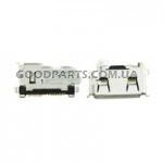 Коннектор зарядки для Samsung D880, B100, C3510, D780, E1125, F400, F480, F520, G800 (Оригинал)