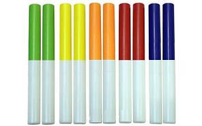 Эстафетная палочка упаковка 10 шт , пластик, l-30см, d-3см