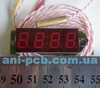 Тахометр-вольтметр-термометр ТВТ-0,4-4
