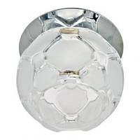 Светильник точечный (цоколь G9)прозрачный-хром JD175