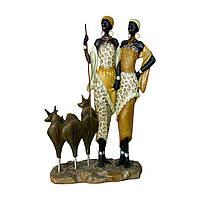 "Статуэтка ""Африканцы"" 31 см."