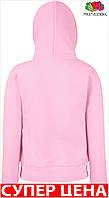 Женская кофта толстовка кенгуру тепалая с капюшоном Цвет Светло-Розовый Размер Xl 62-038-52 Xl
