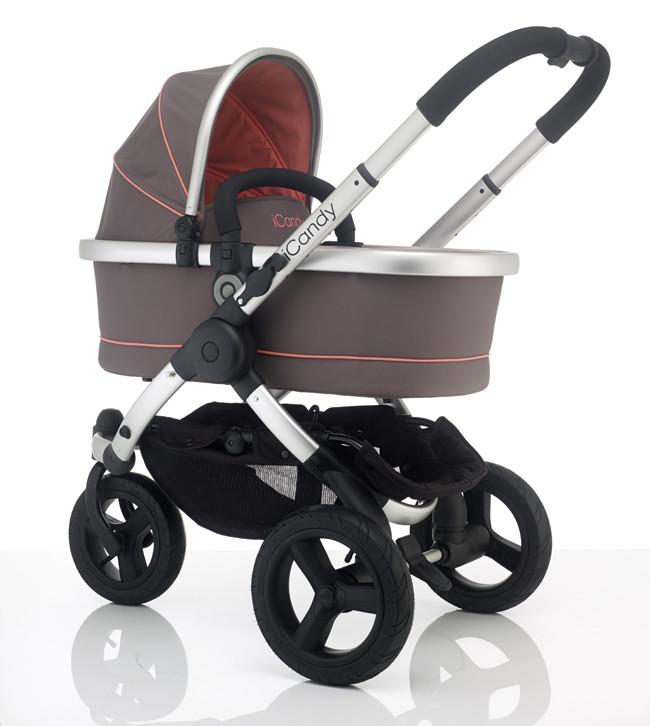 Детская коляска 2 в 1 iCandy Peach All Terrain + спальный мешок