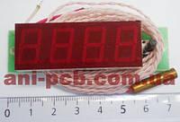 Тахометр-вольтметр-термометр ТВТ-0,56-4