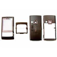 Корпус Nokia 6280 черный блистер ориг (шт.)