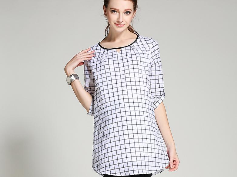 3cb1cc3f60441 Клетчатая рубашка для беременных и кормящих - Интернет-магазин