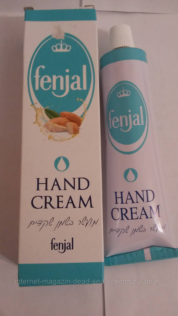 Крем для рук с миндальным маслом Fenjal