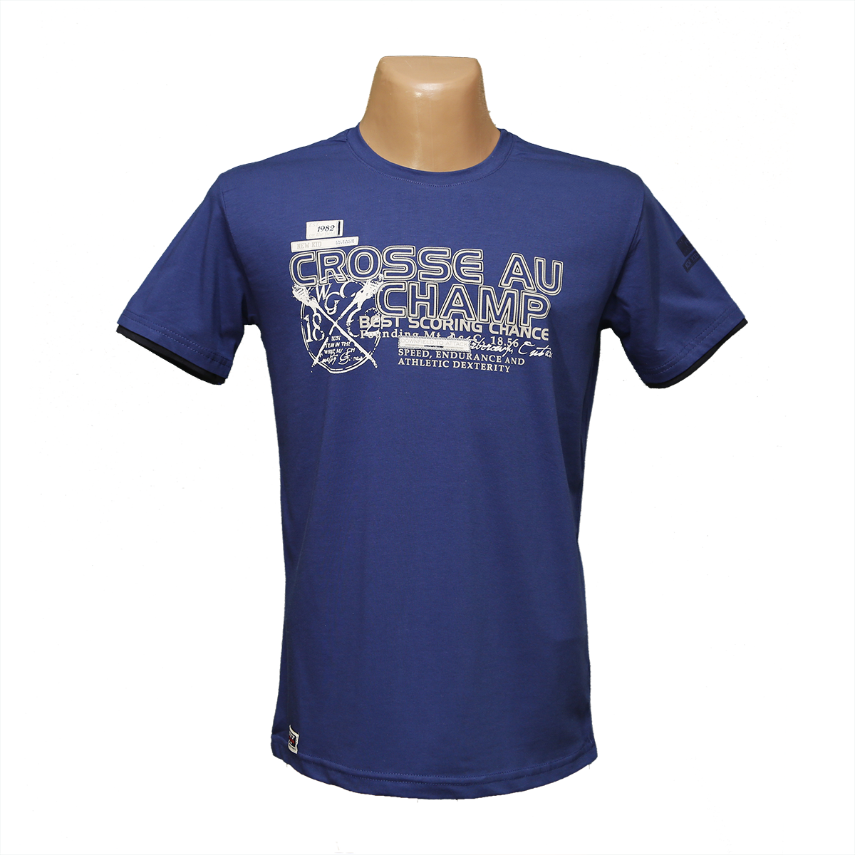 Мужская стрейчевая футболка Lycra тм. BY Walker. пр-во Турция 4004-4
