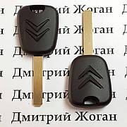 Ключ для Citroen (Ситроен) лезвие VA2, с чипом ID46